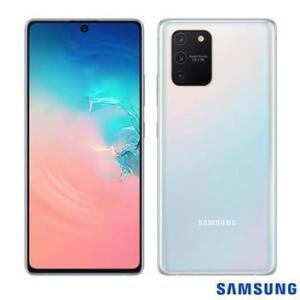 """Smartphone Samsung Galaxy S10 Lite com tela de 6,7"""" 128GB R$ 2460"""