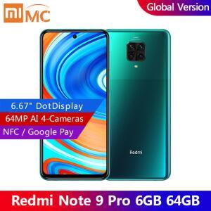 Xiaomi Redmi note 9 pro 128gb 6gb R$ 1300