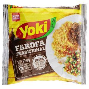 PRIME - (R$ 1,69) Farofa Pronta Yoki 250g