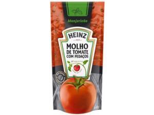 Molho de Tomate Manjericão Heinz 340g - R$2
