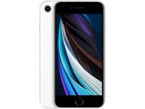 "[ CLUBE DA LU + APP ] iPhone SE Apple 64GB Branco 4G Tela 4,7"" Retina-Câm. 12MP + Selfie 7MP iOS 13 Proc. A13 Bionic NFC"