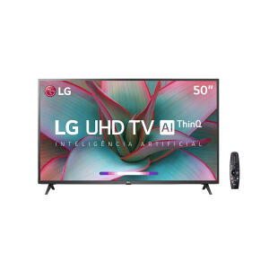 "Smart TV LED 50"" LG UN7310PSC 4K Bluetooth HDR - R$2399"