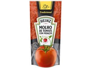 [R$0,26 APP MAGALU] Molho de Tomate Tradicional Heinz 340g | R$2