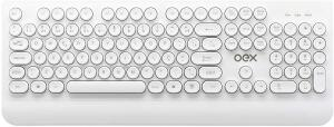 [Prime] Teclado USB branco OEX POP R$ 44