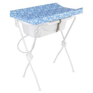Banheira Com Trocador New Floripa - Tutti Baby Azul | R$186