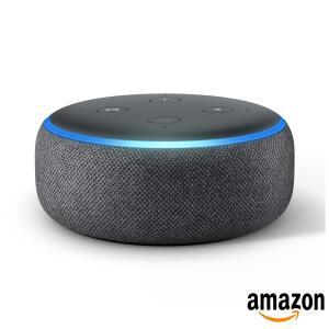 Smart Speaker Amazon com Alexa Preto - Echo Dot | R$235