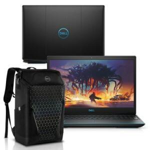 """(Com ame 5552) Notebook Gamer Dell G3-3590-M40BP 9ª Geração Intel Core i5 8GB 256GB SSD Placa Vídeo NVIDIA GTX 1050 15.6"""" Windows 10 Mochila"""