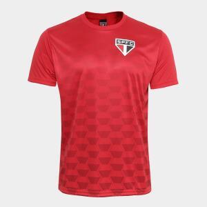 Camiseta São Paulo Hexagonal   R$39