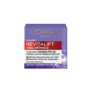Revitalift Loreal Hialurônico Diurno FPS 20 50ml - R$ 41