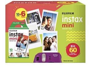 [PRIME] Filme Instax Mini - 60 poses - Fujifilm