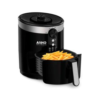 [R$307 à vista] Fritadeira sem Óleo Arno Air Fryer Moderna PFRY 3,5L – Preta