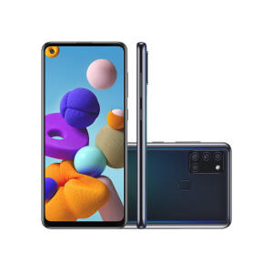 Samsung Galaxy A21s 64GB Preto