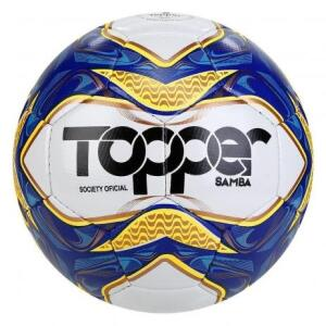 Bola de Futebol Society Topper Samba Costurada | R$65