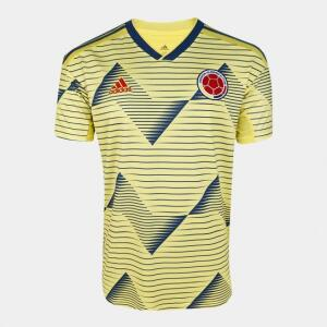 Camisa Colômbia Home 19/20 s/n° Torcedor Adidas Masculina | R$117