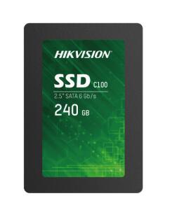 SSD Hikvision C100, 240GB, Sata III, Leitura 550MBs e Gravação 450MBs, HS-SSD-C100/240G | R$ 239