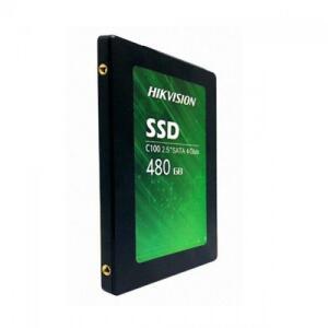 SSD Hikvision C100, 480GB, Sata III, Leitura 550MBs e Gravação 470MBs | R$419