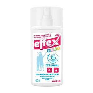 Repelente Effex Baby Spray 100ml - +6m | R$ 18
