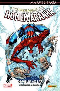 Marvel Saga - o Espetacular Homem-Aranha Volume 1. De Volta ao Lar: Capa Dura - R$16,52