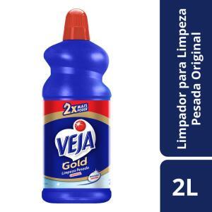 [PRIME] Limpador Veja Gold Limpeza Pesada Original, 2L R$ 14