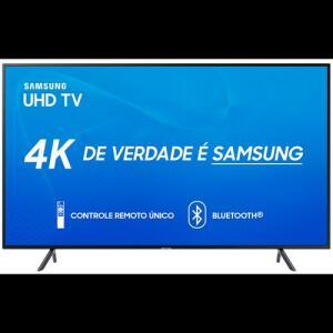 "Smart TV 4K Samsung LED 65"", UHD, HDMI, WiFi, USB, Bluetooth® - 65RU7100   R$ 3399"
