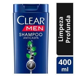 Shampoo Clear Men Limpeza Profunda 400ml