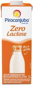 [Prime] Leite Semidesnatado Zero Lactose Piracanjuba 1L | R$ 2