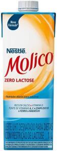 Leite Desnatado Molico Zero Lactose 1L | R$2