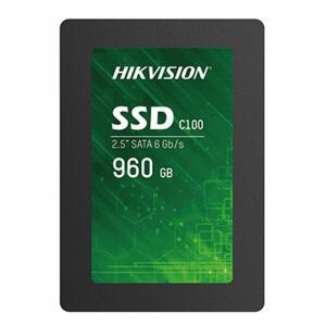 SSD Hikvision C100 960GB , SATA III Leitura 520MBs e Gravação 400MBs, R$ 829