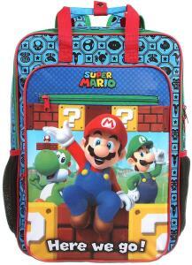 Mochila G, Super Mario Bros, DMW Bags | R$74