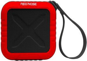 [Prime] Caixa de Som Bluetooth Resistente a Água, Entrada Micro SD, Cabo Micro Usb + Áudio P2Xp2, PWC-AUDBL-RD, Vermelho/Preto