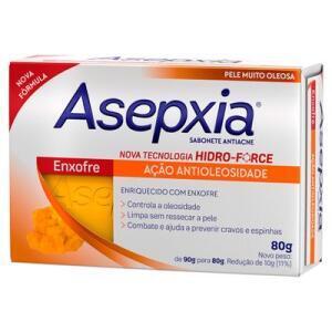Sabonete Asepxia - Diversos 80g - R$7