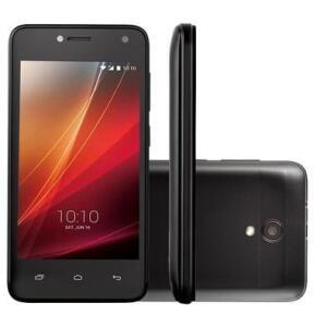 Smartphone Semp Go! 3C, 8GB, 5MP, Tela 4´, Preto