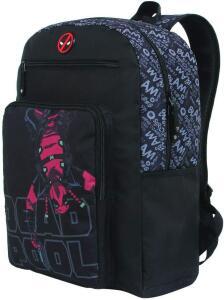 [Prime] Mochila, DMW Bags, Deadpool, 11378, Preta