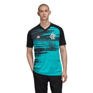 [Mastercard] Camisa Flamengo Pré Jogo 20/21 Adidas Masculina (Tam. P)