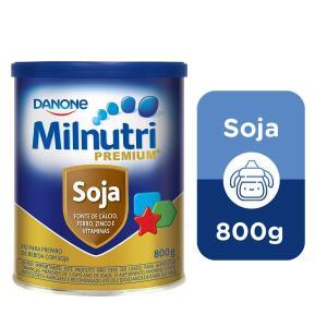 Composto Lácteo Milnutri Premium Soja Danone Nutricia 800g