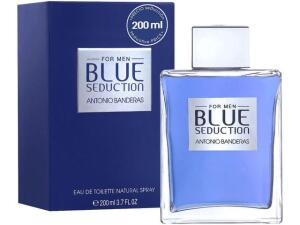 [R$130 com Magalupay] Perfume Antonio Banderas Blue Seduction Masculino - Eau de Toilette 200ml - R$159