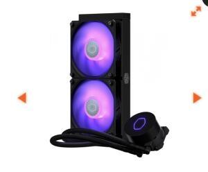 Water Cooler Cooler Master Masterliquid ML240L V2, RGB 240mm, Intel-AMD 2020 | R$ 439
