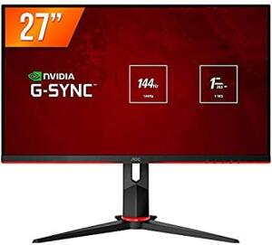 Monitor Gamer AOC Hero 27 144Hz IPS 1ms G-Sync Compatible