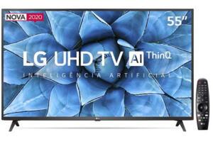 "Smart TV LED 55"" UHD 4K LG 55UN7310PSC"