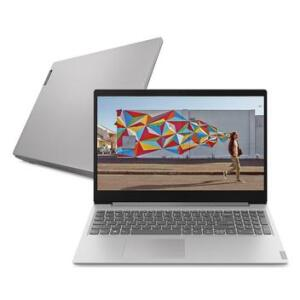"Notebook Lenovo Ultrafino ideapad S145 Ryzen 5 8GB 1TB Linux 15.6"""
