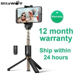 Selfie Stick BlitzWolf® BW-BS3 Bluetooth | R$87