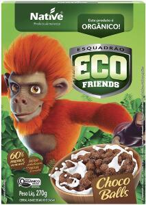 [PRIME] R$: 3,89 | Eco Friends Choco Balls Orgânico Native 270g