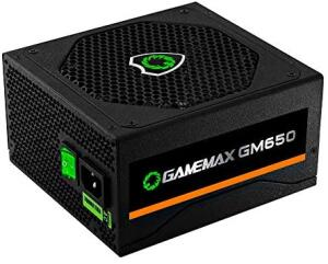 Fonte 650W 80+ Gamemax | R$ 350