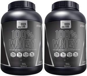 Combo 2x 100% Whey 900g Dark Lab