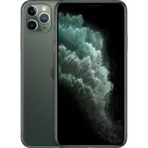 "[ AME R$ 5.849,00 ] iPhone 11 Pro Max 64GB Verde Meia-Noite 6.5"" iOS 4G + Wi-Fi Câmera 12MP - Apple"