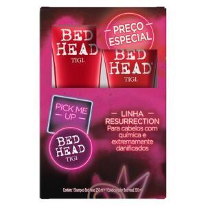 Kit Bed Head Resurrection Shampoo 250ml + Condicionador 200ml R$99