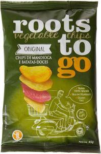 Chips Original Roots To Go 24 Unidades De 45G R$92