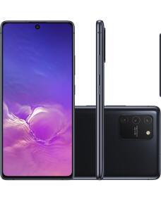 "Smartphone Samsung Galaxy S10 Lite 128GB Dual Chip 6GB RAM Tela 6.7"""