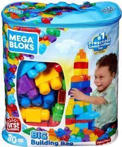 {PRIME} Sacola de 80 Blocos, Mega Bloks R$78