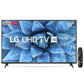 "(APP) 12x S/Juros   Smart TV LG LED 55"" UHD 4K 55UN7310PSC Wi-Fi, Bluetooth, HDR, - 2020"